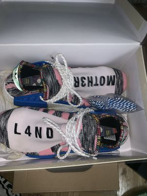 Adidas NMD Hu Pharrell Solar Pack Mother for Sale in Fort Washington, MD