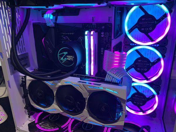 Nvidia ASUS ROG STRIX GeForce RTX2070 SUPER Advanced OC 8G GDDR6 Graphics Card