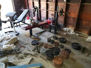 500LB COMPLETE WEIGHT SET for Sale in Mitchell, IL