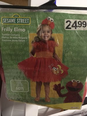 Sesame Street Frilly Elmo size 2T in the package! for Sale in Apache Junction, AZ