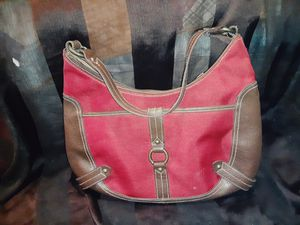 Red and Brown handbag for Sale in Sarcoxie, MO