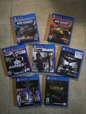 PS4 GAMES for Sale in Winder, GA