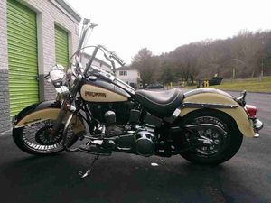 1988 Harley Heritage Softail. New motor and Trans. New exhaust kit. New front and back tires. New rims. New rotors. New brakes. New cables. New belt. for Sale in Philadelphia, PA