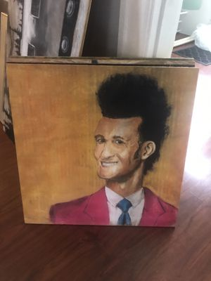 Chalk artwork - portrait on wood for Sale in Canonsburg, PA