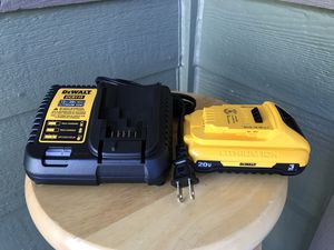 DEWALT 20-Volt Max 3-Amp-Hours Power Tool Battery Kit (Charger Included) for Sale in Marysville, WA