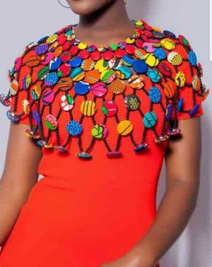 Buttons and beads cape - One size fits all for Sale in Baltimore, MD