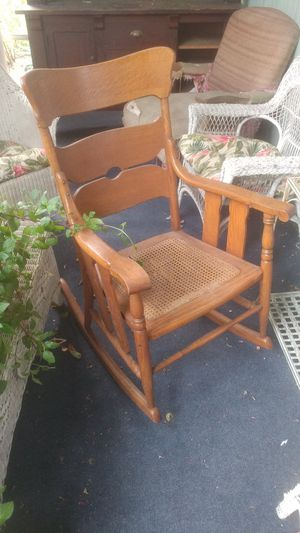 Antique Oak Rocking Chair for Sale in Portland, OR