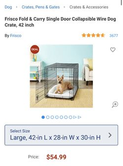 Dog Crate & Bed for Sale in Charlotte,  NC