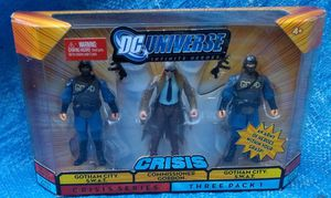 DC Universe Commissioner Gordon Gotham City Swat Action Figure Pack MOC MIP 2008 Mattel Collectible for Sale in Pasadena, CA