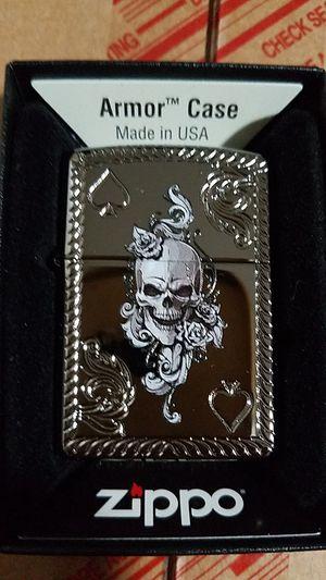 Zippo spade & skull design 29666 for Sale in Los Angeles, CA