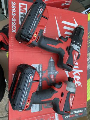 Milwaukee m18 drill combo for Sale in Houston, TX