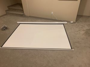 Projector screen for Sale in Frederick, CO