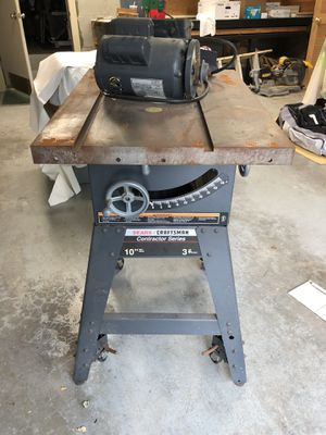 """10"""" craftsman table saw for Sale in Hawthorne, NY"""