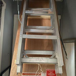 Aluminum Attic Ladder for Sale in Brick Township, NJ