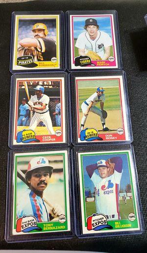 1981 Baseball card lot. for Sale in Longmont, CO