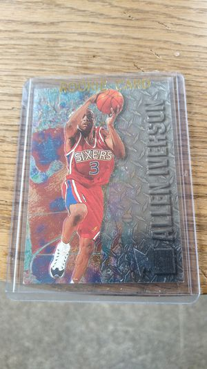 Allen Iverson Rookie Card for Sale in Terre Haute, IN