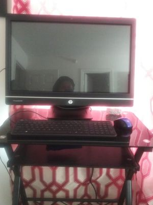 23 inch HP ALL IN ONE TOUCH SCREEN DESK TOP COMPUTER for Sale in Newport News, VA