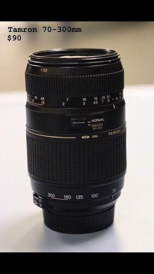 Tamron 70-300mm for Sale in Modesto, CA