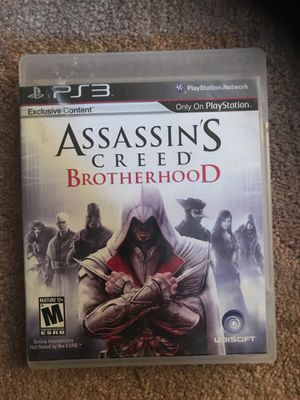 Assassins creed Brotherhood /PS3 for Sale in Modesto, CA