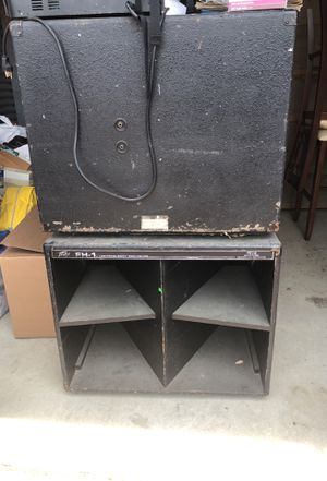 Pevey Band/DJ Subwoofers (Set) for Sale in Dallas, TX