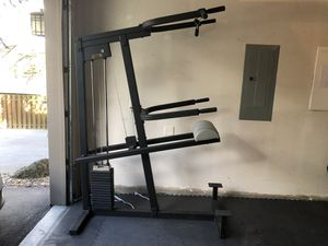Weight Assisted Chin Pull Up Bar & Dip Station for Sale in Portland, OR