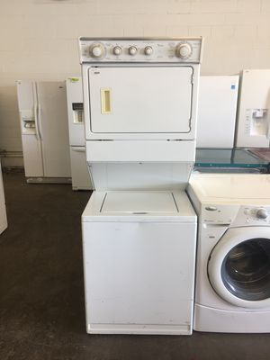 Whirlpool Stackable Washer and Dryer Laundry Center for Sale in Dallas, TX