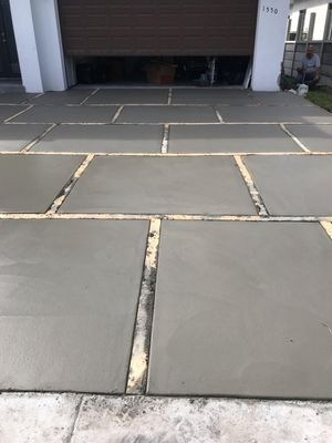 Stamp concrete, Euro tile, concrete plain for Sale in Hialeah, FL