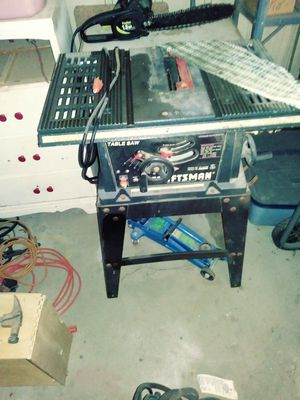 table saw craftsmen for Sale in Odessa, TX
