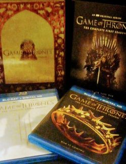 $31.00 Blu-ray Bundle Game Of Thrones for Sale in Glendale,  AZ