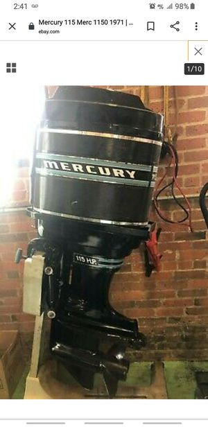 Mercury 115 outboard motor Tower of Power for Sale in Orlando, FL
