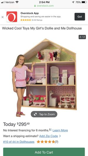 Doll house for American Girl Dolls 6ft tall for Sale in San Ramon, CA