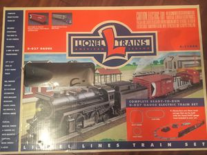 1998 Lionel Steam Engine Locomotive Train Set 0-027 gauge with extra tracks and 2 box cars for Sale, used for sale  Brick Township, NJ