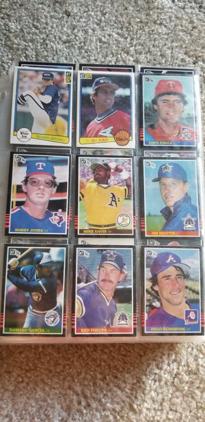 Assorted Donruss Baseball Cards for Sale in Parkville, MD