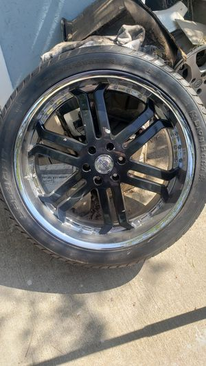 "24"" inch rims with new tires for sale or trade for Sale in Los Angeles, CA"