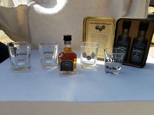 Jack Daniels shot glass collection for Sale in Riverside, CA