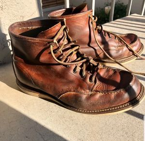 Red wing boots size 12 for Sale in Riverside, CA