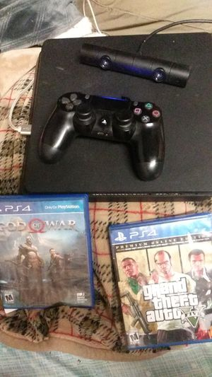 Ps4 500gb w/Controller 2games & Camera for Sale in Beaumont, CA