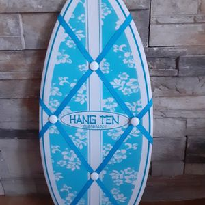 Surfboard Message Board ( 20 Inches Tall ). for Sale in Apple Valley, CA
