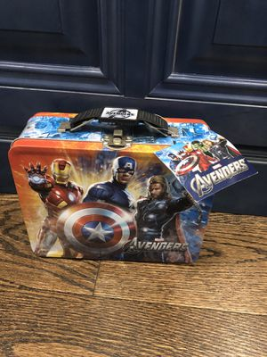 BRAND NEW WITH TAG SUPERHERO TIN BOX for Sale in Staten Island, NY