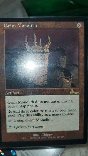 MTG Magic the Gathering Grim Monolith EX for Sale in Costa Mesa, CA