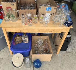 Brewery Beer Glasses Barware Mancave Collection for Sale in Lebanon, OH