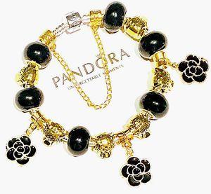 Iconic Pandora 925 Bracelet Cheetahs in the night for Sale in Marysville, WA