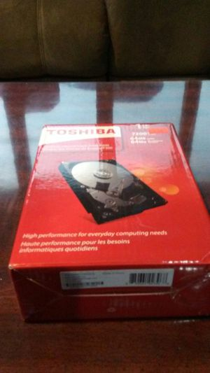1tb toshiba hard drive for Sale in Falls Church, VA