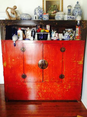 Antique Chinese Armoire for Sale in Washington, DC
