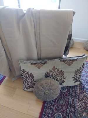 Moroccan Pillow cases and Matching Curtains for Sale in McLean, VA