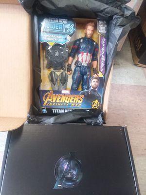 Avengers Captain America in the original box for Sale in Philadelphia, PA