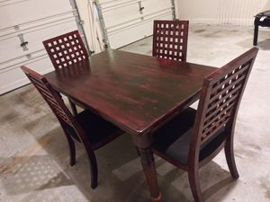 Large Wood Dining Table for Sale in Atlanta, GA