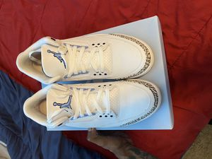 Air Jordan UNC 3s for Sale in Knightdale, NC
