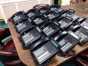 Lot of 15 Nortel Meridian Professional Office Telephones for Sale in PECK SLIP, NY
