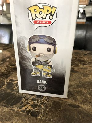 Pop! Hank action figure for Sale in Riverside, CA